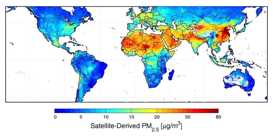 Mappa PM2,5